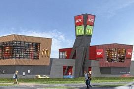 Foodcourt Enschede met KFC en McDonald's open