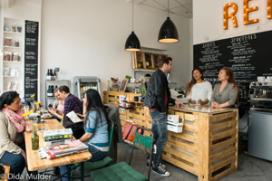 Gezonde fastfood' bij REIN in Amsterdam