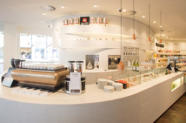 Meer City Cafés in Bijenkorf