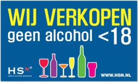 Verzoek om debat handhaving alcoholleeftijd