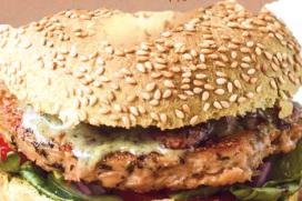 The Dutch Weed Burger bij Bagels & Beans