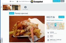 Snackkoerier zet Scoopshot in om foto's te ontvangen