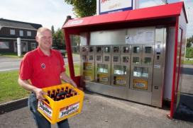 AB Inbev lanceert bierkrat-automaat