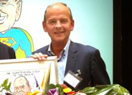 Bas Hoogland uitgeroepen tot 'Mr. Klantvriendelijkheid 2014