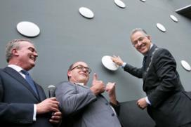 Burgemeester Aboutaleb opent vernieuwd Bilderberg Parkhotel