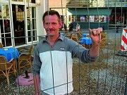 Protest tegen halvering terrascapaciteit