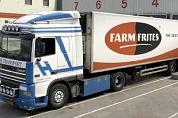 Vrachtwagen met frites veroorzaakt verkeerschaos