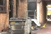 Container oorzaak brand Cinéma