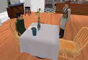 Restaurantspel op web zoekt obers