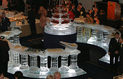 Spectaculair ijsbuffet bij jubilerend Okura