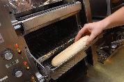 Verhage aan de krokante baguette
