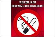 Fastfoodketen KFC geheel rookvrij