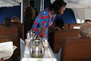 Lauwe vliegtuigmaaltijden passé