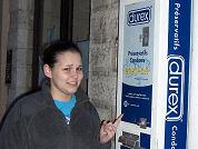 Condoomautomaten in cafés geplunderd