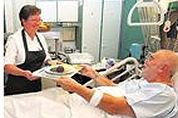Zeewier in ziekenhuismaaltijden