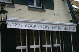 Haarlemse horeca schrapt happy hour