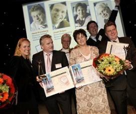 Awards voor Kuijpers, Kroneberg, Dirken, Zijlstra