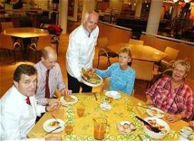 Bezoek bedrijfsrestaurants sterk gedaald