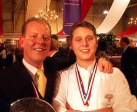 Restaurant Boreas wint Zilveren Champignon 2004