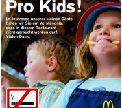 Ook rookverbod Duitse fastfoodrestaurants