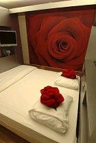 Hotelkamer boeken als vliegtuigstoel