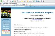 Website fastfood.com te koop