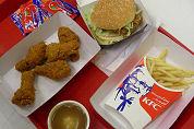KFC stopt met kinderspeelgoed bij menu's