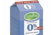 Minister steunt Campina's melk-campagne