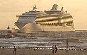 Toekomstig cruisemonster naar Amsterdam