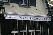 Verbod happy hours van tafel