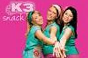 Meidengroep K3 krijgt eigen snack