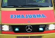 Sportauto ramt terras: 6 gewonden