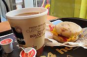 Amerikaanse McDonald's-restaurants vroeger open