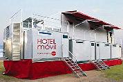 Hotel op wielen kan 50 gasten aan