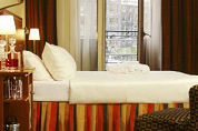 Amsterdam in Europese top met hotelkamerbezetting
