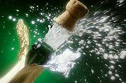 Nieuw wereldrecord champagne ontkurken