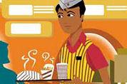 Nieuwe fastfoodschool in Best geopend