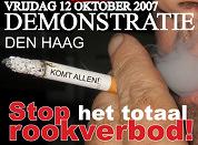 Klink krijgt 95.000 krabbels van rokers