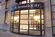 Daklozen voeren actie bij Brussels Hilton