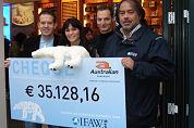Australian doneert €35.000 aan de ijsbeer