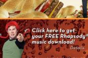 Liedjes downloaden bij hamburgers