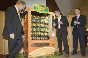 Groente- en fruitautomaten voor cateraars