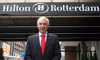 Nieuwe hotelmanager Hilton Rotterdam