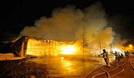 Partycateraar na brand alweer operationeel