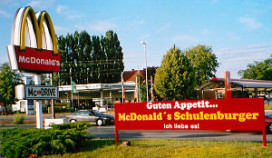Duitsers eten het meest bij McDonald's