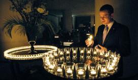 Licht Hilton Amsterdam uit tijdens Earth Hour
