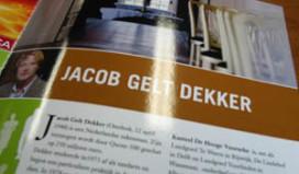 Misset Horeca strikt Jacob Gelt Dekker