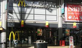 Brand bij McDonald's Rijswijk