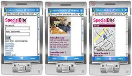 SpecialBite ook op mobieltje