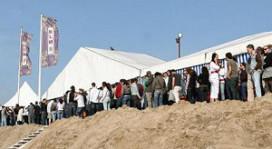 Massale vechtpartij strandtent Bloemendaal